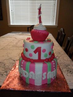 1st Birthday Cake.