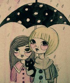 it's rainy these days