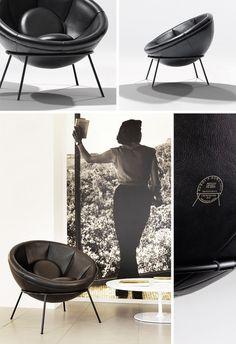 Armchair by Lina Bo Bardi. #modern #design #furniture #decor #casadevalentina