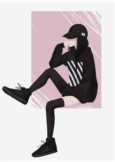 I really like it good job Mija park Cool Anime Girl, Beautiful Anime Girl, Anime Art Girl, Tmblr Girl, Cover Wattpad, Fan Art Anime, Anime Triste, Estilo Anime, Digital Art Girl