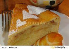 Pěnový jablečný koláč