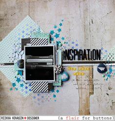 Riikka Kovasin - Paperiliitin: Inspiration howwhatwhen - A Flair for Buttons