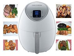 Air Fryer LCD Touch screen 8-in-1 One-touch Cooking Electric Fryer Kitchen #AirFrye