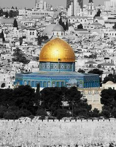 One of my dreams coming true... I get to look out at the dome of the Rock every single day. #spoiled #j.ru