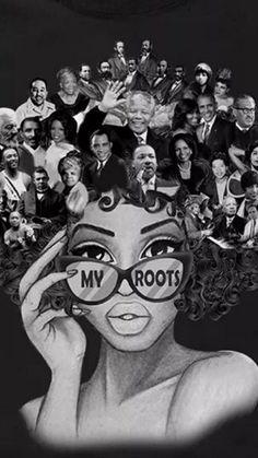 Photo -  Photo Black Love Art, Black Girl Art, Black Is Beautiful, Black Girl Magic, Black Girls, Art Girl, Black Art Painting, Black Artwork, African American Art
