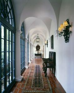 Spanish Colonial by George Washington Smith Black Windows Rough Luxe Lifestyle