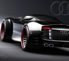 Audi Concept car. Looks fast. Real fast. | Lucky Auto Body in Beaverton, OR is an auto body repair shop committed to providing customers with the level of servic & quality of repair they expect & deserve! Call (503) 646-9016 or visit www.luckyautobodybea