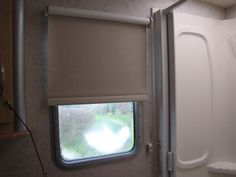 """Our customer said: """"Bought these blinds to replace some metal mini-blinds in our motorhome. Should have done this sooner. Very easy to install. Glad we got the blackout shades for upcoming trip to Alaska. Fair price. They look nice. Very pleased. Many thanks."""""""