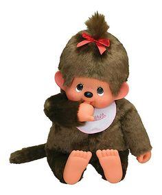 This Jumbo Girl Monchhichi Plush Toy is perfect! #zulilyfinds