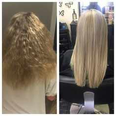 Fullhighlight, haircut, and keratin treatment done by myself, Rebecca Gonzalez @ Simply Chic Beauty Salon in Lowell, Ma
