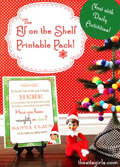 These Elf on the Shelf Printables will make your kids' elf experience extra fun.