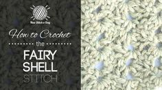How to Crochet the Fairy Shell Stitch •✿• Teresa Restegui http://www.pinterest.com/teretegui/ •✿•
