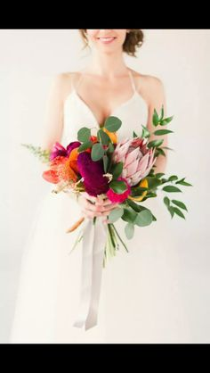 Love this bouquet it's very different and bright