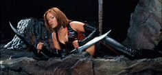 Another hot vampire in Bloodrayne is Kristianna Loken
