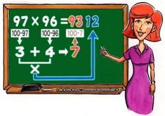 Comment multiplier des grands nombres facilement