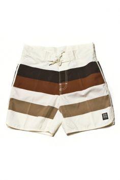 insight - men's retro stud mid swim shorts (straw)    http://www.80spurple.com/shop/product/142464/5250/insight-men-s-retro-stud-mid-swim-shorts-straw