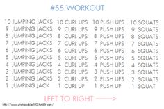 Easy to do at home workout! (& links to a fab get-skinny blog)