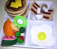 Felt Food-Sam McLean. Custom Breakfast | Flickr - Photo Sharing!
