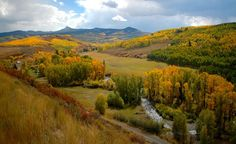 """Ranches in the Flat Tops Wilderness of Colorado."" (Courtesy paulhurd/myBudgetTravel)"