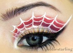 Spider Web Eyes .... I would wear these to a costume party!!