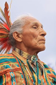 Native American. Lakota Elder.