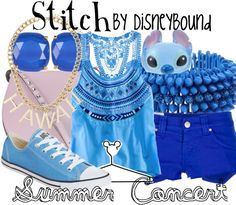 Female Summer Stitch Disney Bound By Leslie Kay Sadly after looking it up, the ring is no longer made... WAAAAAAAAH!!!