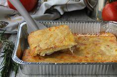 La frittata al forno farcita con prosciutto e formaggio è un secondo piatto gustoso e facilissimo da preparare e buono per tutta la famiglia.