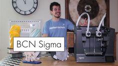 BCN Sigma R17 3D Printer Review