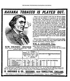 1903 Havanna Cigar advert