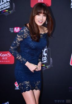 Kang So-Ra 강소라 2014 MAMA Kang Sora, Jennifer Esposito, Dresses With Sleeves, Asian, Actresses, Long Sleeve, Women, Female Actresses, Sleeve Dresses