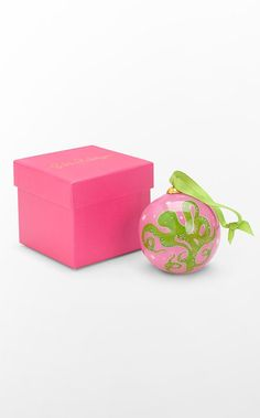 Even Christmas needs a little pink with its green.