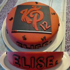 Enzo Knol verjaardag taart