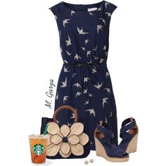 Untitled #299 by maria-garza on Polyvore featuring polyvore, fashion, style, Poem, Tory Burch, Mar y Sol and Juliet & Company