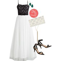 Sweet Me in the Middle Dress by modcloth on Polyvore