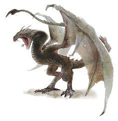 Wyvern o Lindrm, dragones de dos patas o dos alas, a veces poseen las dos cualidades