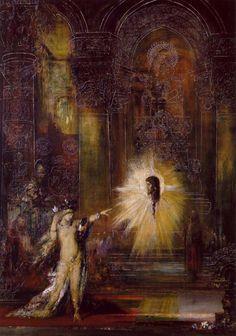 G. Moreau: La aparición, 1874-1876. Simbolísmo