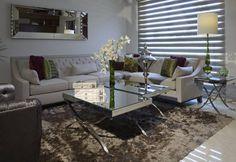 Sala Estudio Casa GL : Salones de estilo moderno de VICTORIA PLASENCIA INTERIORISMO
