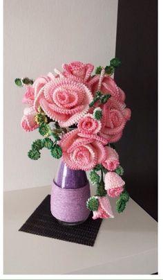 вяжем цветы мастер класс