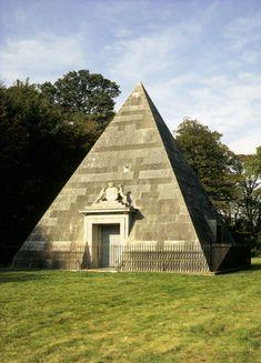 Mausoleum pyramid at Blickling Hall, designed by Joseph Bonomi Norfolk, Joseph, Irish, Building, Design, Construction, Irish Language, Buildings, Ireland