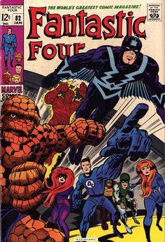 Jack Kirby Fantastic Four | #JackKirby - Fantastic Four - (1964) #Marvel #mygeeklife