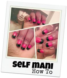 Can I tell y'all how proud of this self mani I am!? ... get the deets on GorgeousInGrey.com