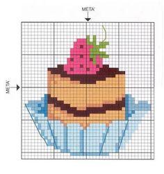 Resultado de imagen para punto croce cucina dolci