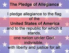 the pledge of allegiance - Google Search