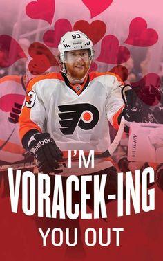 Philadelphia Flyers Valentine's Day cards!