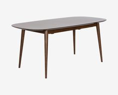 Scandinavian Designs - Go above and beyond for your guests when you welcome them to a meal at your elegant Juneau extension dining table. This classic Scandinavian silhouette with tapered legs and rounded rectangular top are taken to the next level with the ability to expand the table top, and your guest list. $1299.00