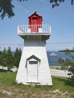 Kagawong Lighthouse, Ontario Canada at Lighthousefriends.com