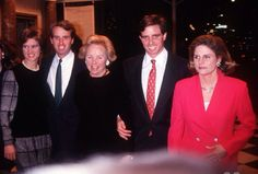 Kerry Kennedy, Christopher Kennedy, Ethel Kennedy, Michael Kennedy and Victoria Gifford Kennedy
