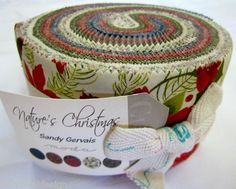 Nature's Christmas by Sandy Gervais Pre-cuts. Jelly Rolls and layer cakes @$42.50.
