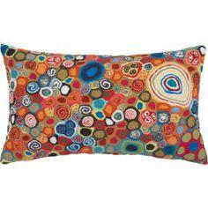 "millefiora murano 20""x12"" outdoor pillow in pillows | CB2"