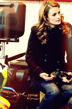 Stana Katic - love her clothes!